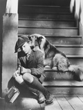 Lassie Come Home, from Left: Roddy Mcdowall, Lassie, 1943 Photo