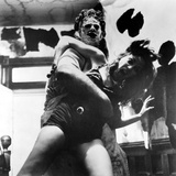 The Texas Chainsaw Massacre, Gunnar Hansen, Teri Mcminn, 1974 Photo