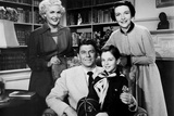 Ford Television Theatre, from Left, Paula Corday, Ronald Reagan, Tommy Rettig, Nancy Reagan, 1953 Photo