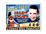 Isle of Escape, from Left, Myrna Loy, Monte Blue, 1930 Giclee Print