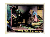 Werewolf of London, from Left, Warner Oland, Henry Hull, Valerie Hobson, 1935 Impressão giclée