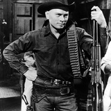The Magnificent Seven, Yul Brynner, 1960 Photo