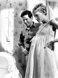 Rosemary's Baby, John Cassavetes, Mia Farrow, 1968 Photo