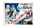 The Long, Long Trail, from Left, Sally Eilers, Hoot Gibson, 1929 Giclee Print