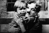 The Kid, Jackie Coogan, Charles Chaplin, 1921 Foto