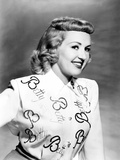 Betty Grable, in a Personalized Blouse, 1949 Photo