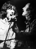 Woodstock, from Left: Graham Nash, David Crosby, 1970 Photo