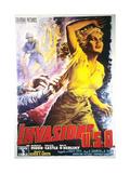 Invasion U.S.A., Italian Poster Art, 1952 Giclee Print