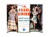 The Great Divide, from Left, Myrna Loy, Dorothy Mackaill, Ian Keith, 1929 Giclee Print