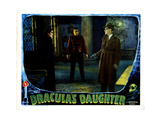 Dracula's Daughter, from Left, Gloria Holden, Irving Pichel, Otto Kruger, 1936 Giclee Print