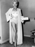 Betty Grable, Posing for a Wardrobe Test, Ca. Early 1950s Photo
