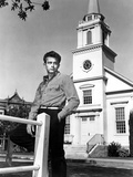 East of Eden, James Dean, 1955, Church Photo