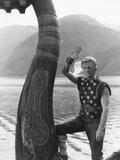 The Vikings, Kirk Douglas, 1958 Photo