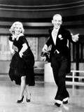 Swing Time, from Left: Ginger Rogers, Fred Astaire, 1936 Photo