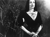 Plan 9 from Outer Space, Vampira, (Maila Nurmi), 1959 Photo