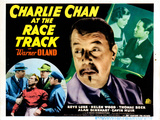 Charlie Chan at the Race Track, Warner Oland, 1936 Photo