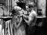 A Streetcar Named Desire, Vivien Leigh, Marlon Brando, 1951 Photo