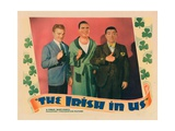 The Irish in Us, from Left: James Cagney, Pat O'Brien, Frank Mchugh, 1935 Giclee Print