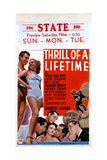 Thrill of a Lifetime, from Left, Buster Crabbe, Betty Grable, 1937 Giclee Print