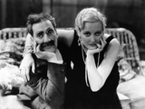 Monkey Business, L-R: Groucho Marx, Thelma Todd, 1931 Photo