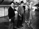 Monkey Business, from Left: Chico Marx, Harpo Marx, 1931 Photo