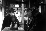 Ikiru, from Left: Yunosuke Ito, Takashi Shimura, 1952 Photo