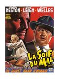 Touch of Evil, (aka La Soif Du Mal), Janet Leigh, Charlton Heston, Orson Welles, 1958 Giclee Print