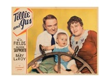 Tillie and Gus, from Left: W.C. Fields, Baby Leroy, Alison Skipworth, 1933 Giclee Print