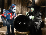 The Wizard of Oz, Margaret Hamilton (Right), 1939 Photo