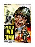Sands of Iwo Jima, John Wayne, 1949 Giclee Print