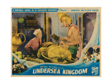 Undersea Kingdom, Chapter 1: Beneath the Ocean Floor, 1936 Giclee Print