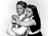 Love Finds Andy Hardy, Mickey Rooney, Judy Garland, 1938 Photo