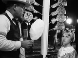 Paper Moon, Desmond Dhooge, Tatum O'Neal, 1973 Photo