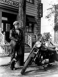 The Wild One, Marlon Brando, 1954 Photo