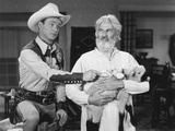 Roll on Texas Moon, from Left: Roy Rogers, Gabby Hayes, 1946 Photo