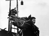 Yojimbo, Toshiro Mifune (On Scaffold), 1961 Photo