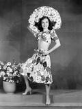 Paulette Goddard, 1941 Photo