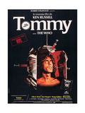 Tommy, Roger Daltrey on French Poster Art, 1975 Giclee Print