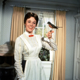 Mary Poppins, Julie Andrews, 1964 Photo