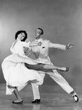 The Band Wagon, from Left: Cyd Charisse, Fred Astaire, 1953 Photo
