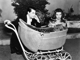 Bringing Up Baby, Cary Grant, Katharine Hepburn, 1938 Photographie