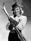 Sun Valley Serenade, Sonja Henie, 1941 Photo