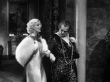 Dinner at Eight, Jean Harlow, Marie Dressler, 1933 Photo