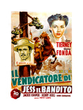 The Return of Frank James, (AKA Il Vendicatore Di Jess Il Bandito), 1940 Giclee Print