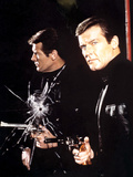 Live and Let Die, Roger Moore, 1973 Photo