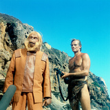 Planet of the Apes, Maurice Evans, Charlton Heston, 1968 Photo