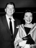 Ronald Reagan, Left, and Nancy Davis, Out on the Town, Ca. 1951 Photo