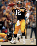 Terry Bradshaw Passing Stretched Canvas Print
