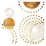 Golden Dots Prints
