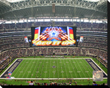 Dallas Cowboys AT&T Stadium Stretched Canvas Print